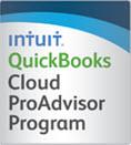 Intuit QuickBooks Cloud Proadvisor logo