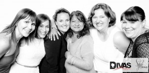 The AIS Solutions Team at the Divas Changing Lives - Takes You Around the World Event