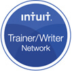 Intuit trainer writer network logo